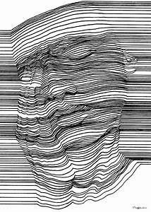 Optische Täuschung Tattoo : optische t uschung mit 3d effekt durch geschickte linienf hrung klonblog drawings ~ Buech-reservation.com Haus und Dekorationen