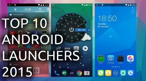 best launchers for android top android launchers for 2015 available