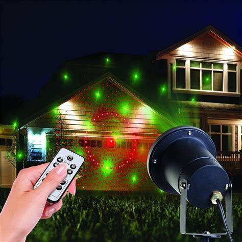 christmas lights outdoor projector laser star show light