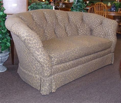 Leopard Print Loveseat by Curved Leopard Print Loveseat Eclectic Sofas Houston