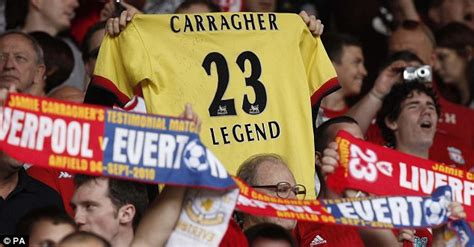 Jamie Carragher testimonial picture special: Gerrard joins ...