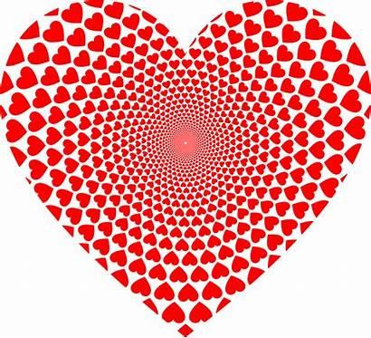 Hearts Heart Clipart Heartbeat Vortex Coracao Health