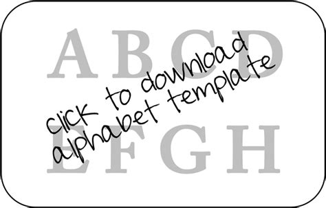 alphabet templates to cut out beanbag tutorial learning to spell hackshaw lil blue boo