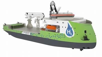 Ulstein Ship Hydrogen Powered Construction Offshore Unveils