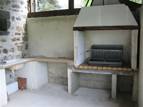 construire cuisine d été cuisine d ete beton cellulaire