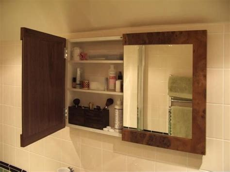In Wall Medicine Cabinet For Bathroom Decorating Idea