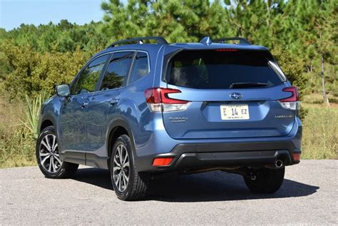 subaru forester limited review test drive
