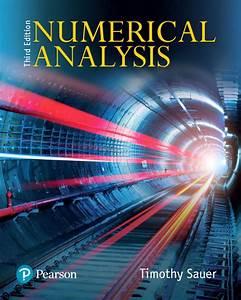Sauer  Numerical Analysis   3rd Edition