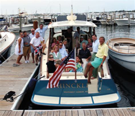 Hinckley Yachts President by Talkin Boats With Michael Arieta Executive Vice President