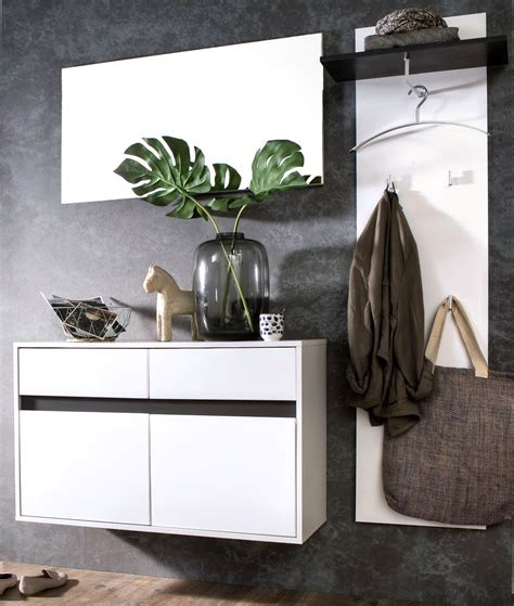 ebay garderoben set garderoben set flurgarderobe lack hochglanz wei 223 grau