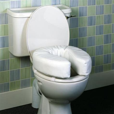 Padded Raised Seat   Raised Toilet Seats   Clearwell Mobility