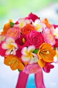 hawaiian wedding flowers dk designs tropical wedding bouquet for a destination wedding