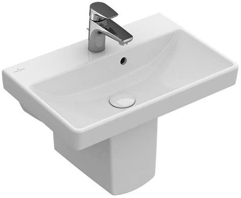 villeroy boch avento avento waschtisch compact eckig 4a0055 villeroy boch