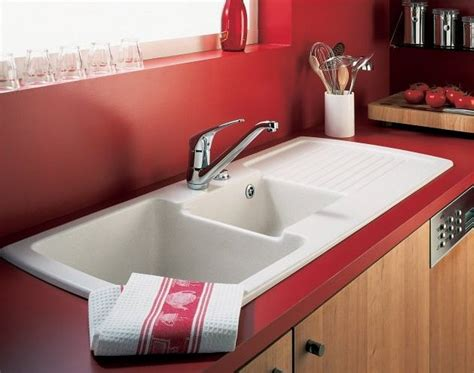Red Kitchen Sink Faucets