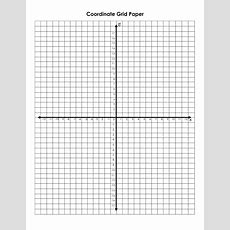Printable Graph Paper Cartesian Plane  Printable Pages