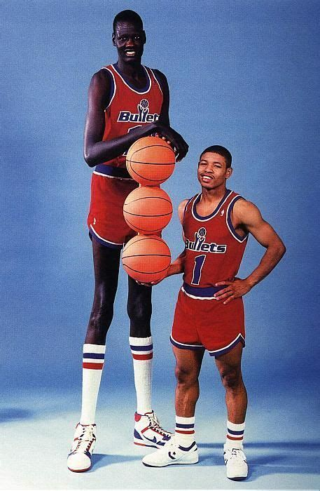 7 Foot Bookshelves by Manute Bol Muggsy Bogues A 7 Foot 7 Nba Player Paired