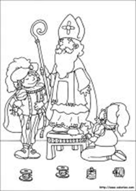 coloriages de saint nicolas choisis ton coloriage de