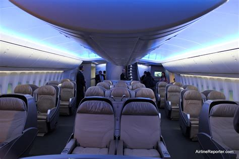 Taking an Interior Tour of the Boeing 747-8