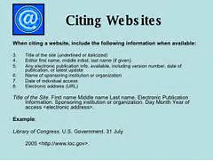 Citing Websites Ul Li When Citing A Website Include The Paper Follows MLA Style MLA Style Shows You How To Cite Your Sources Documentation Citing Sources Of Borrowed Information How To Cite A Journal Article