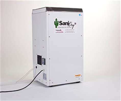 Sanidry Xp™ Basement Dehumidifier  Basement Systems