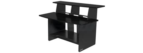 Omnirax Presto 4 Studio Desk Black Dimensions by Omnirax Presto
