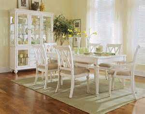 white dining room set camden antique white dining room by american drew