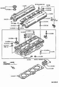 1988 Toyota Corolla Engine Camshaft Seal  Rear   Gasket