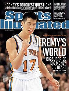 Jeremy Lin on the Cover of SI for 2nd Straight Week