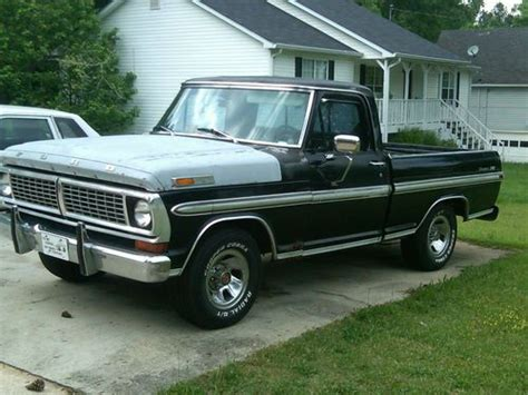 sell used 1970 ford ranger xlt shortbed f100 in