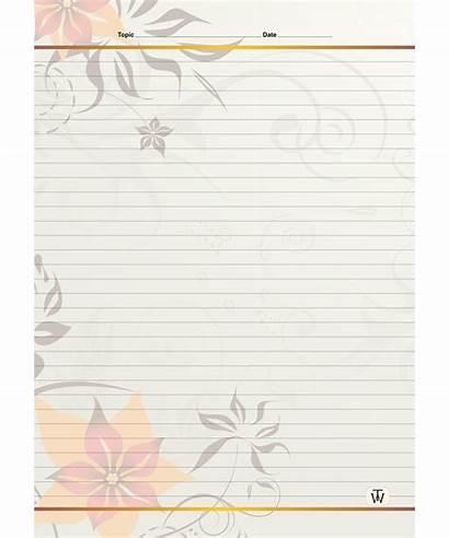 Sheets Designer A4 Line Designs Single Cm