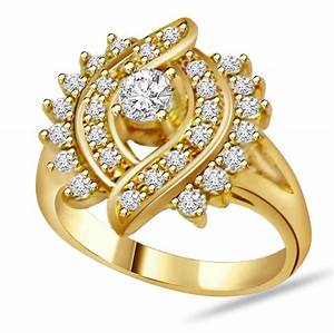 Gold diamond rings for women diamond wedding rings for for Gold wedding rings for women with diamonds