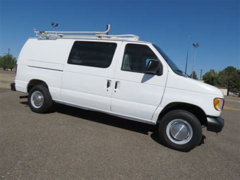best auto repair manual 2000 ford econoline e250 electronic toll collection sell used 2000 ford e250 cargo van w generator compressor 1 owner fleet 96k orig miles in