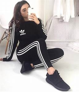 Girl in full adidas gear - Clothing - Shiny Sports