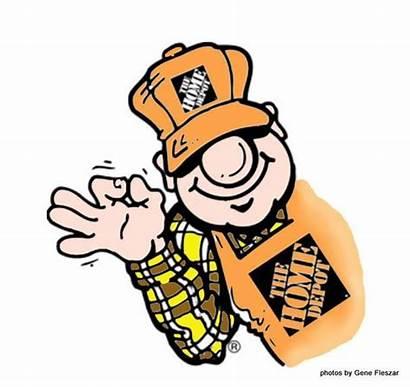 Depot Clipart Homer Clip Apron Mascot Poe