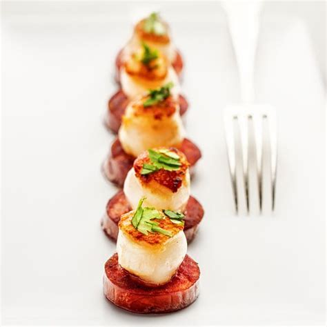 mini canape ideas best 25 scallop appetizer ideas on simple