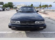 Infiniti M30 Convertible 1990 Black For Sale