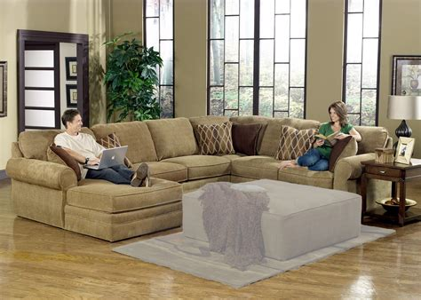 chaise u u shaped sectional with chaise design homesfeed