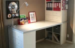 bureau escamotable ikea utilisez des étagères kallax pour tout ranger ikea