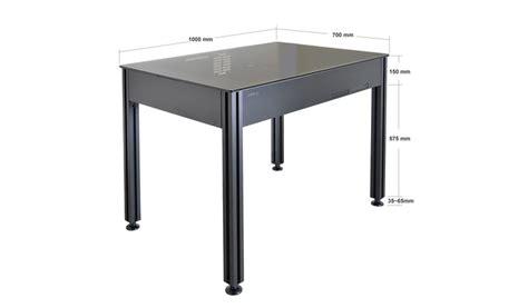 petit bureau pc lian li dk q2 un concept de bureau boîtier ou boîtier