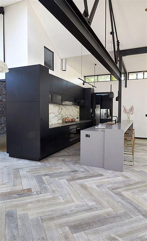 herringbone tile floor kitchen contemporary with accent award winning kitchen design sydneykitchens com au