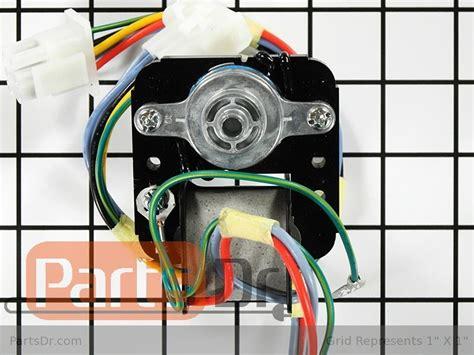 frigidaire refrigerator evaporator fan motor 5303918549 5303918549 frigidaire evaporator fan motor kit parts dr