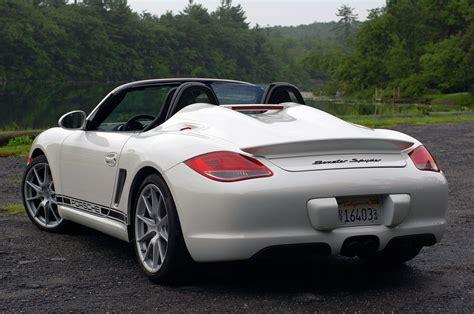 2011 Porsche Boxster Spyder Photo Gallery