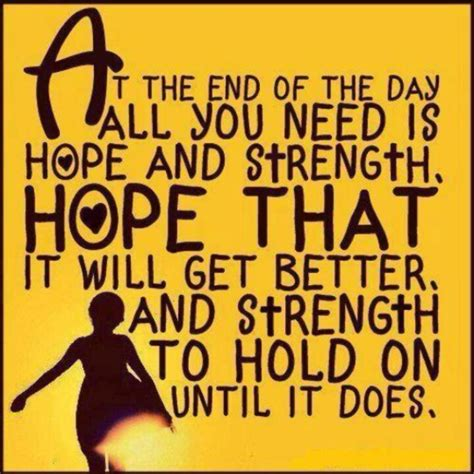 He reminds us that we are created with a spirit to hold hope. Inspirational Quotes About Hope And Strength. QuotesGram