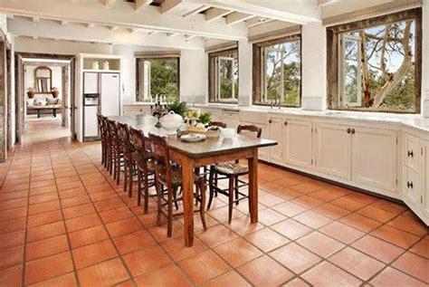 terracotta floor tiles kitchen terracotta floor usage in the kitchen house 6032