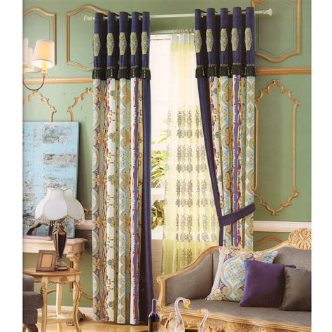 vintage curtains and drapes retro style cheap bedroom curtains velvet