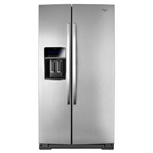Counter Depth Refrigerator Width 33 by Whirlpool 33 Inch Wide Side By Side Refrigerator With