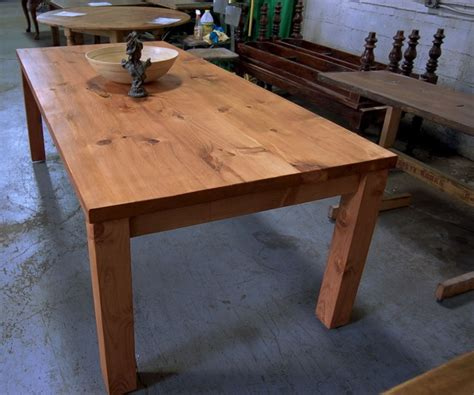 parsons style farm table
