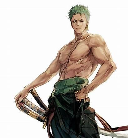 Zoro Roronoa Piece Anime Swordsman Manga Sword