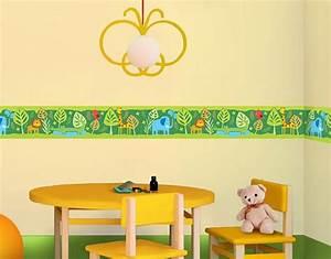 Wandtattoo Kinderzimmer Dschungel : wandtattoo kinderzimmer bord re dschungel bord re no bp3 zootiere ~ Orissabook.com Haus und Dekorationen