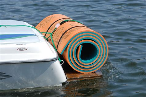 Floating Boat Pad by Lilypad Mat Rentals Premier Pool Spa